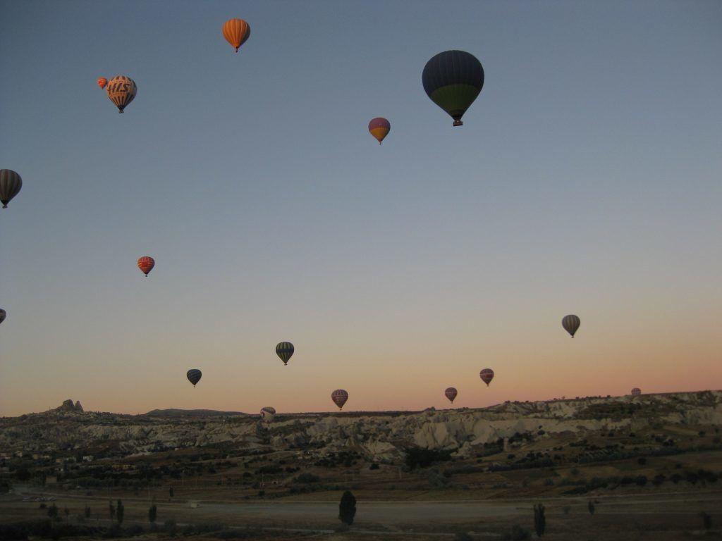 Kapadokya balon gezisi