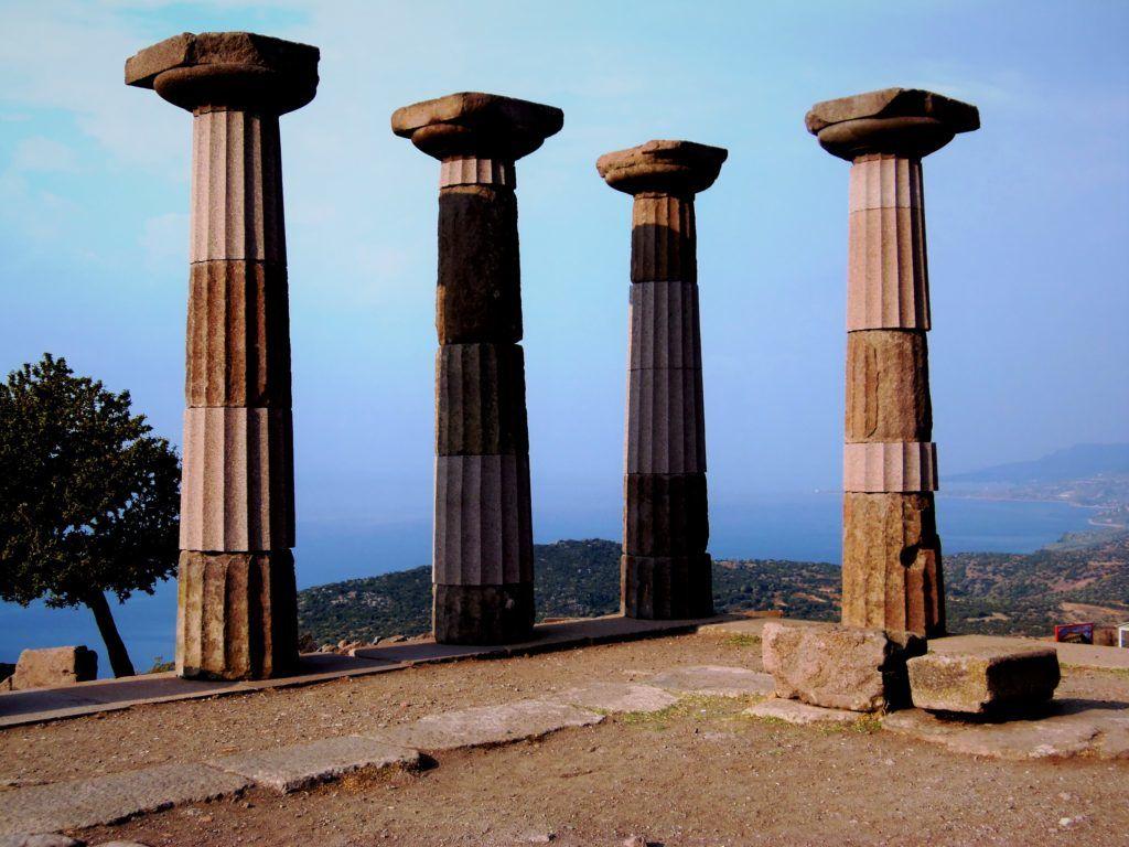 athena tapınağı, assos