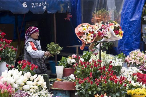 Taksim çiçekçiler