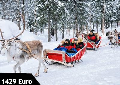 Ocak'ta Lapland Turu