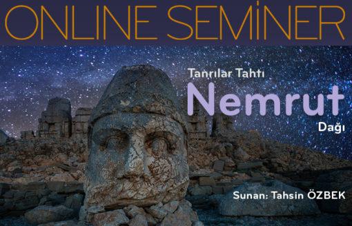 Nemrut dağı online seminer