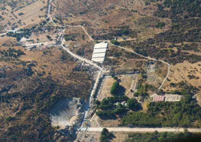 Gökyüzünden Antik Efes